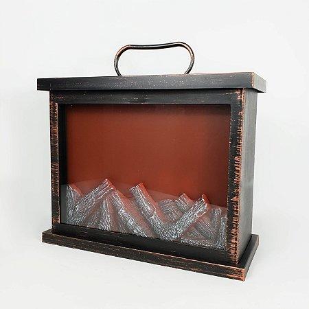 Lareira Retangular - 25cmx30cm