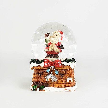 Globo de Neve Papai Noel - 5,5cm