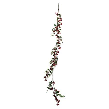 Festão com Folhas e Frutas - 130cm