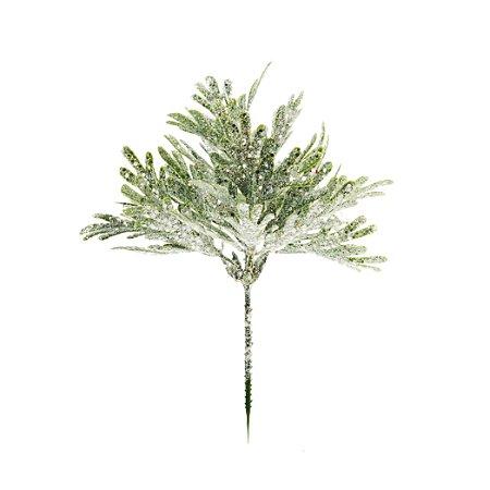 Pick de Verdes c/ Glitter - 24cm