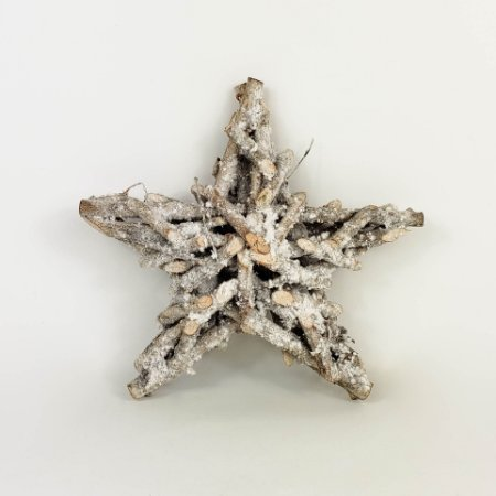 Estrela de Gravetos Natural - 19cm