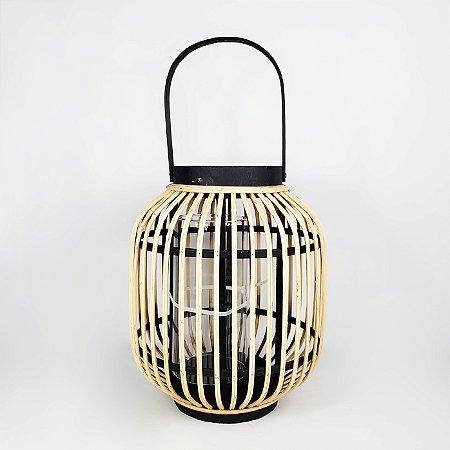 Lanterna Decorativa - 31cmx24cm
