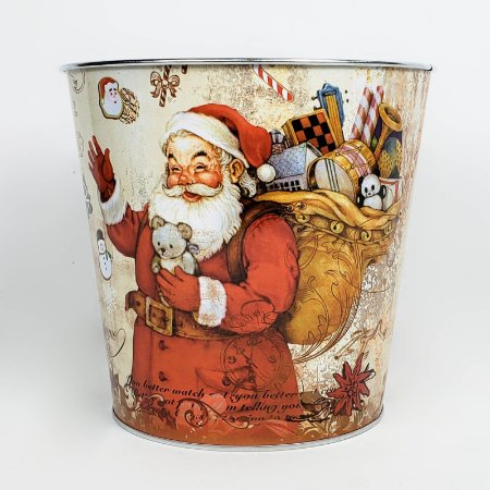 Lata Papail Noel - 15,5cmx17,5cm