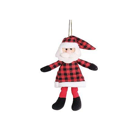 Mini Papai Noel Xadrez - 18cm