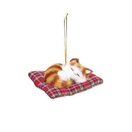 Enfeite de Gato Para Pendurar - 10cmx11cm