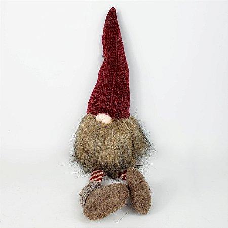 Gnomo Noel com Pernas Longas - 28cm