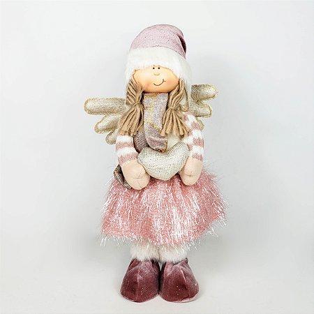 Menina Heart - 35cm