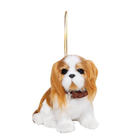 Cachorro Shitzu Para Pendurar - 13cmx14cm