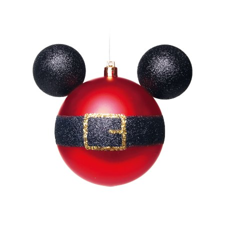 Caixa com 4 Bolas Disney Mickey Noel - 8cm