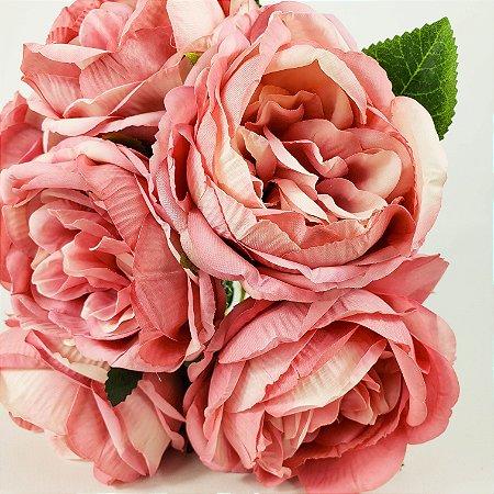 Buque 6 Rosas - Rosa Pink