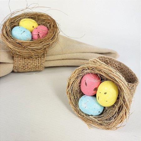 Porta Guardanapo - Ninho com Ovos