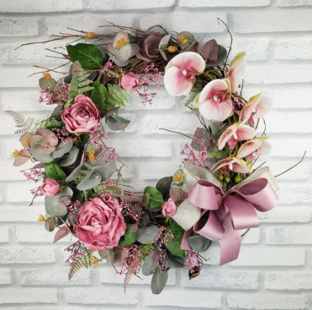 Guirlanda de Flores -  Rosa