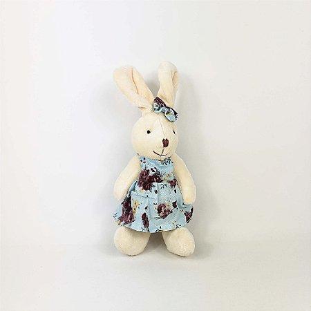 Coelha de Pelúcia - Azul/Pequena