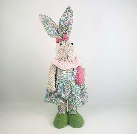 Coelha de  Tecido - Floral