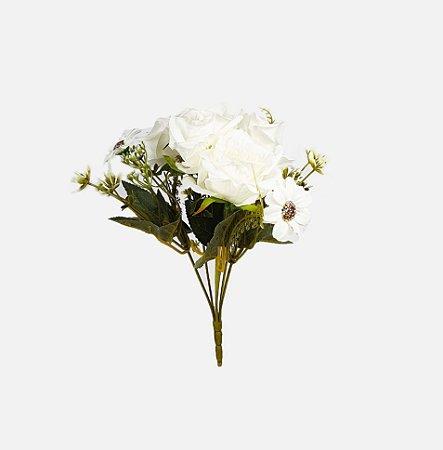 Buquê de Rosas - Branco