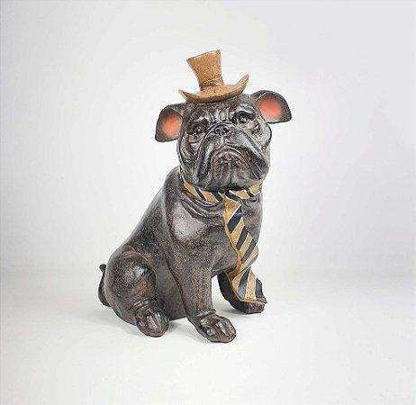 Cachorro de Resina - Buldogue