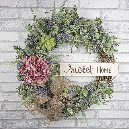 Guirlanda de Flores - Sweet Home