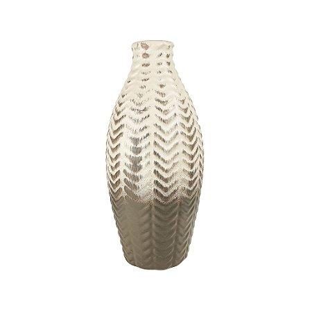 Vaso de Cerâmica - Marrom