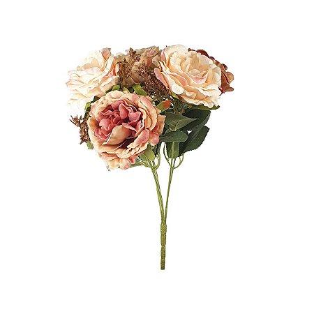 Buquê de Rosa Cabbage