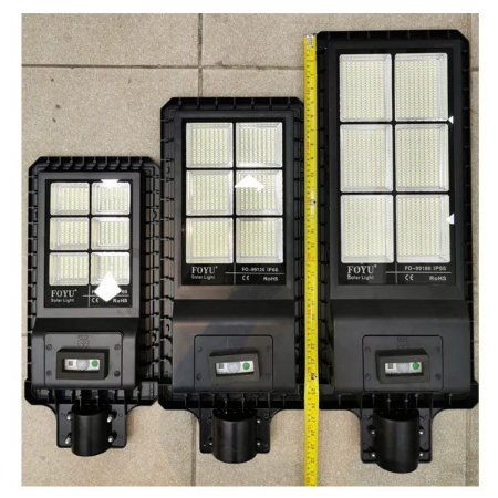 LUMINÁRIA LED SOLAR 90W ALL IN ONE PARA POSTES
