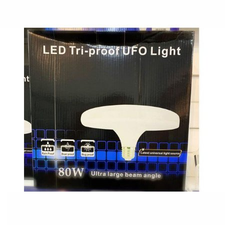 Lampada Tri-proof UFO Light Led 80w