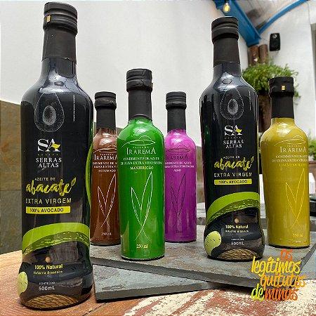 Azeite Extra Virgem com Manjericão Fazenda Irarema 250ml