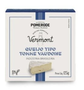 Queijo Tipo Tomme Vaudoise Vermont 125g
