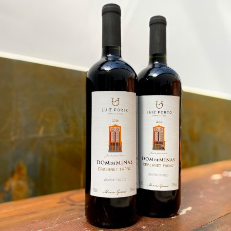 Vinho Dom de Minas Cabernet Franc 750ml