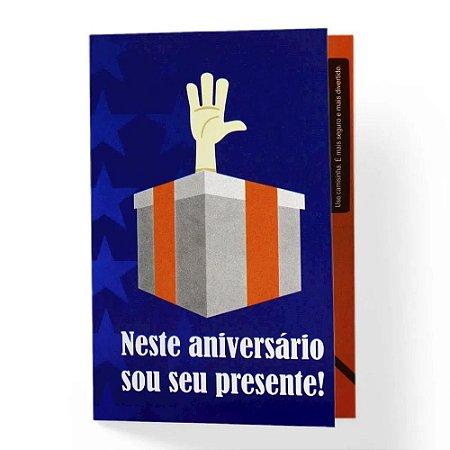 Cartão De Presente Neste Aniversario