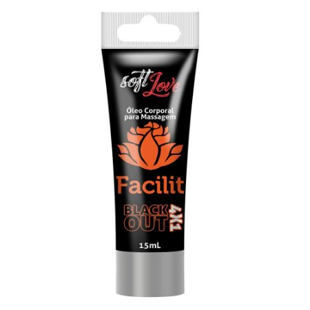 Facilit Black Out 4x1 - Dessensibilizante Anal
