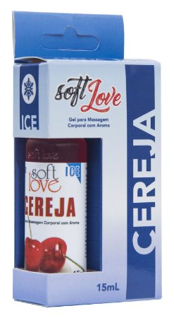 Óleo Corporal Comestível Ice - Cereja