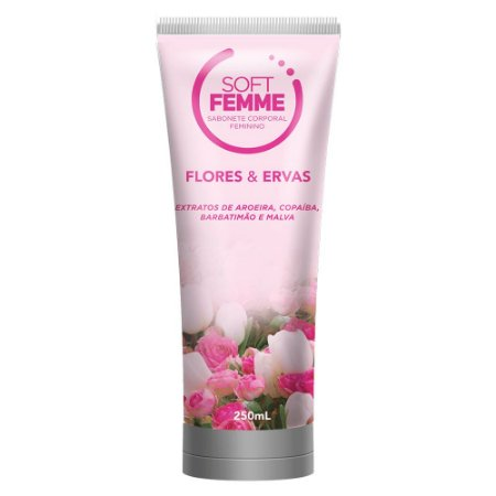 Sabonete Corporal Soft Femme - Flores e Ervas