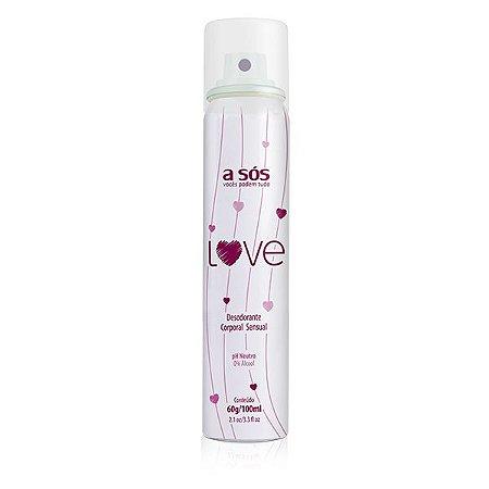 Desodorante Íntimo Love