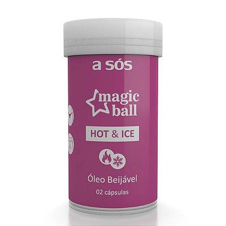 Cápsula Magic Ball Sensual Ice e Hot - 02 Unidades