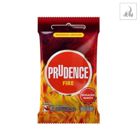 Preservativo Prudence Fire 3 unidades