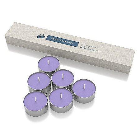 Caixa de Vela Love Fragrancy Love – 06 Unidades