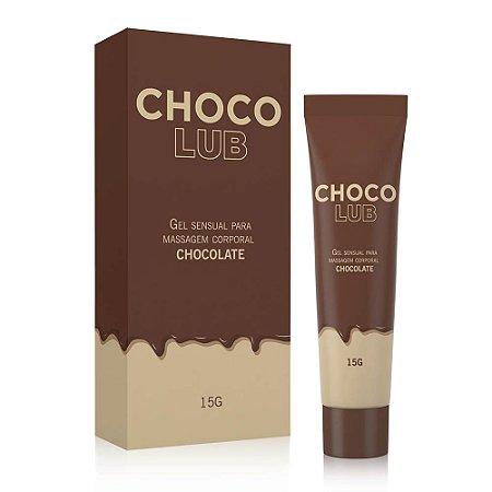 Lubrificante Beijável Chocolub - Nova Embalagem - 15 g
