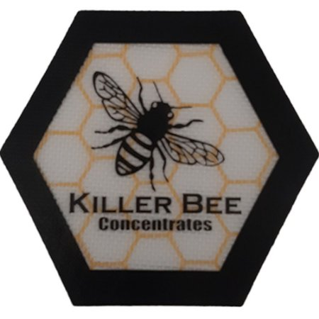 TAPETE PARA TABACO PEQUENO PRETO CARIBE - KILLER BEE