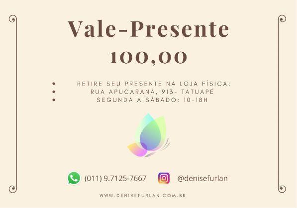 Vale-Presente DF R$ 100,00