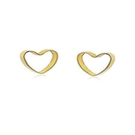 Brinco Carolina 3D Dourado