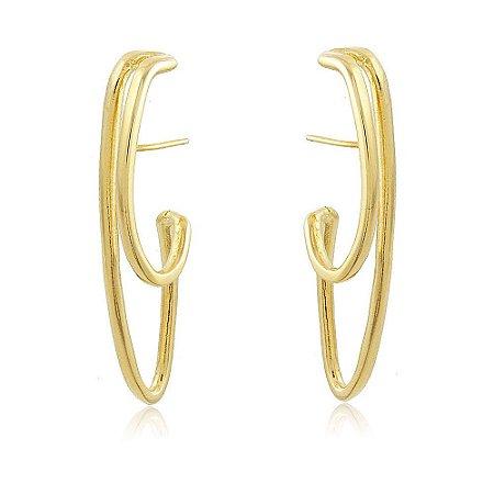 Brinco Ear Hook Beatriz Dourado