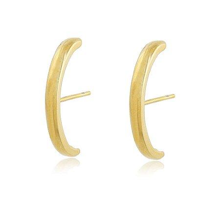 Brinco Ear Hook Thássia Dourado