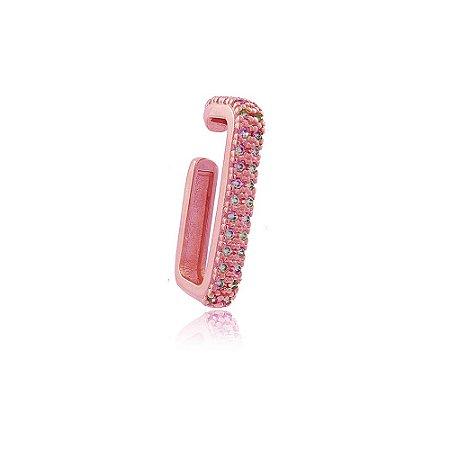 Piercing Fake Carola Retangular Pink