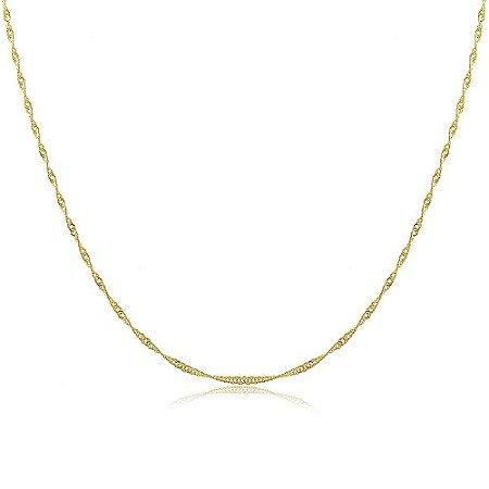 Colar Simone 45cm Dourado