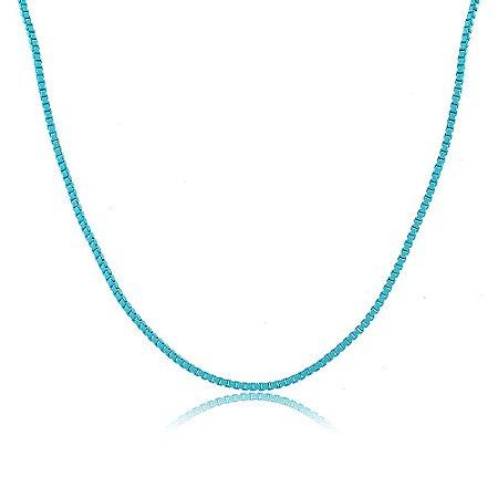 Colar Veneziana Nath Azul