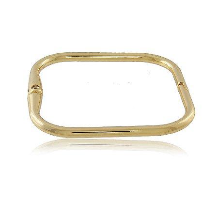 Bracelete Clarissa Quadrado Dourado