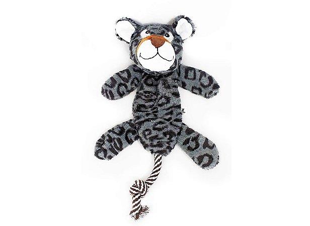 Brinq.pelucia Leopardo Dental