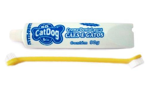 Kit Dental C/escova Veterinaria Menta