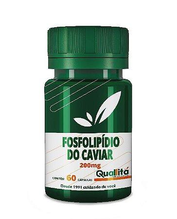 Fosfolipídeos do Caviar 500mg (60 Cápsulas)