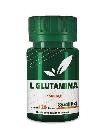 L Glutamina 1500mg (120 Cápsulas)